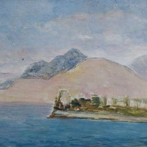 Giovanni Malesci Giovanni Malesci Sicilian Navy, 1957年 布面油画 48x27cm    拍品将由我们的承运…