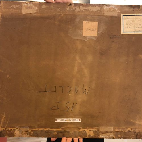 Élisée MACLET Elisée MACLET  诺曼底的海岸,约1935年  伊索尔面板上的油彩  右下方有签名  50 x 65厘米  状况非常好,…