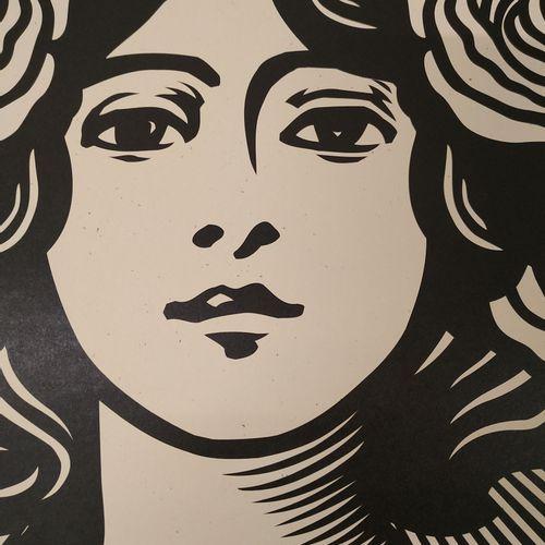 Shepard FAIREY Shepard Fairey (OBEY)  Make Art Not War  Impression Offset sur pa…
