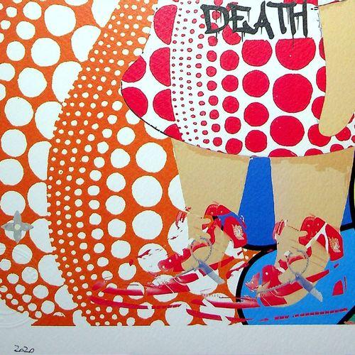 Death NYC Death NYC  Kusama/Murakami/LV/Nike/Nara, 2020  Sérigraphie originale d…