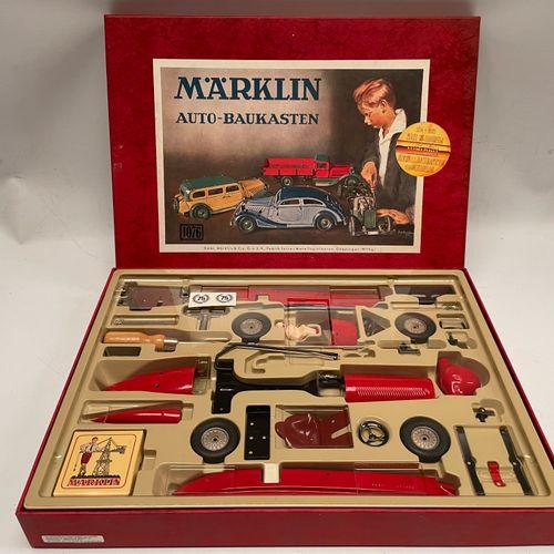 """MARKLIN. Auto Baukasten"""" set 1076. Edition of the 75 years of the brand. Eatt ne…"""