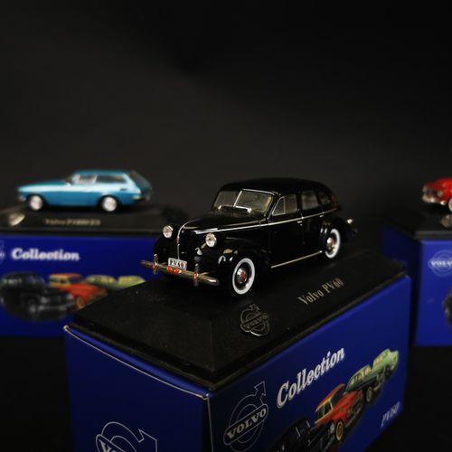 ATLAS收藏。沃尔沃(VOLVO)一套5辆微型车2011