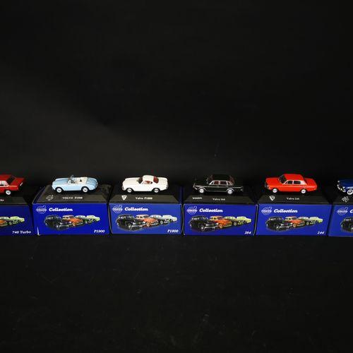 ATLAS收藏。沃尔沃(VOLVO)一套6辆微型车2011