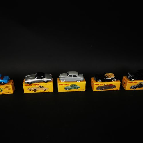 DINIKI TOYS lot of 5 cars (SIMCA 9 and 8 SPORt, CITROEN traction 11 BL...) made …
