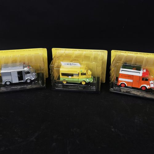 HACHETTE collection of 3 trucks (CITROEN) made in china