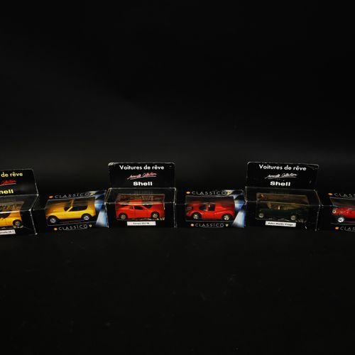 SHELL版6辆汽车,包括FERRARI 512 TR和355 GT 4 BB...中国制造