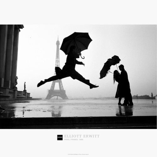 ELLIOTT ERWITT Elliott Erwitt  埃菲尔铁塔100周年纪念。法国,巴黎  高质量的印刷海报  盖有马格努姆收藏品的官方印章  尺寸:…