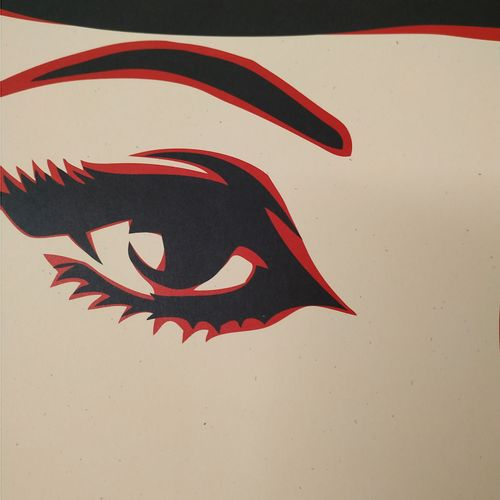 Shepard FAIREY Shepard Fairey (OBEY)  死亡的女人  乳白色纸张上的胶印。  91 x 61 cm  艺术家用铅笔写下了日期…