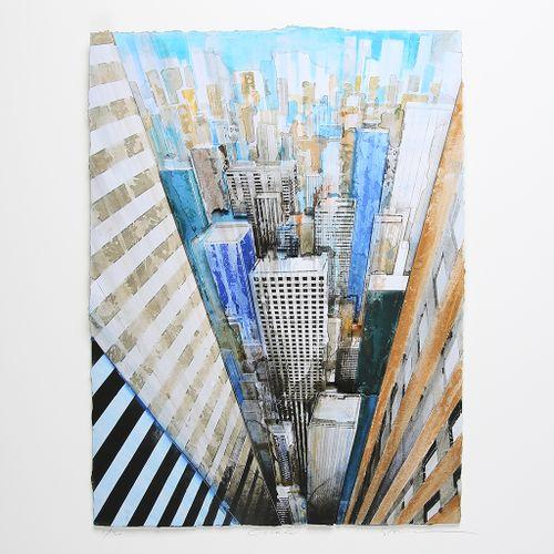 Gottfried SALZMANN Gottfried Salzmann  纽约,2018年  高清晰度艺术打印(Giclée)的3D。  编号为/30,并有…