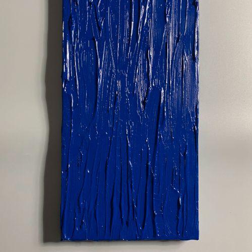 Bobby.J 鲍比 J  Enklein, 2020     画布上的混合媒体     背面签名   40 x 20厘米     完美的状态    出售后,由…
