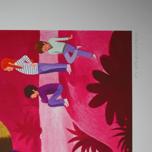 Michaël Sterckeman 米夏埃尔 斯特克曼(1976年  穿靴子的猫, 2019  数字印刷品编号为3份,由艺术家亲笔签名。  在完美的条件下。 …