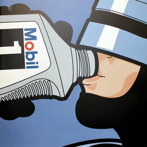 LEON 吕昂   机器人饮料     画布上的重绘   尺寸:60x60厘米   无符号、无编号的   有些轻微的磨损(见照片)。    出售后,由于健康危机…