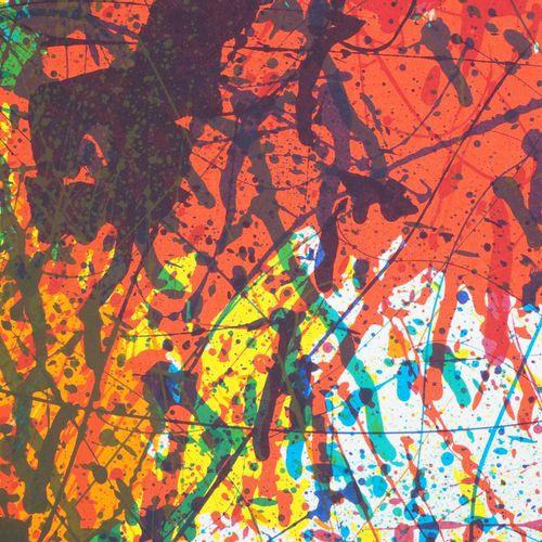 Sam FRANCIS 萨姆 弗兰西斯  爆炸性的色彩  这一时期的原版石印海报  为1983年在迈格特基金会举办的山姆 弗朗西斯展览而制作  印刷商:Arte…