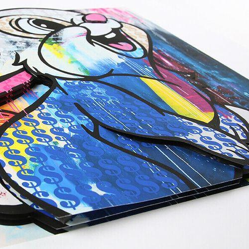 Ben Allen 本 艾伦   金钱兔,2020年     高清晰度(颜料)3D艺术打印   编号/50,并有艺术家的亲笔签名   尺寸:61 x 61 x …