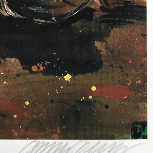 C215 C215  初吻,2020年(大版本  数字印刷在康森纸上。  签名:C215   由艺术家压印和盖章  尺寸:50 x 40 cm    出售后,由…