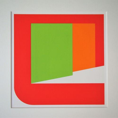 Georg Karl Pfahler Georg Karl PFAHLER (1926 2002 )  Composition concret, 1975  S…