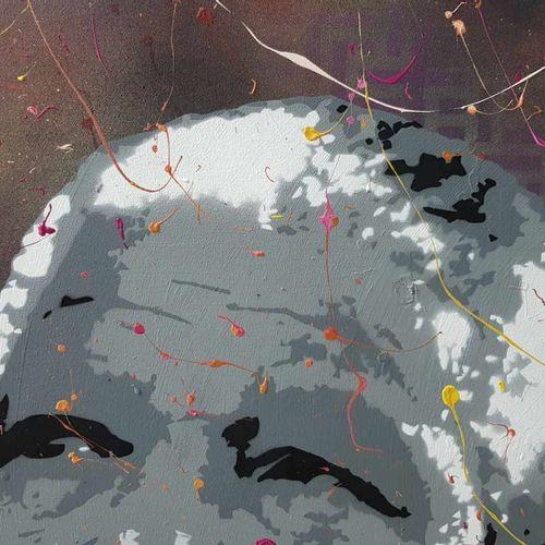 DED2008 DED2008  永不忘记曼德拉,2020  丙烯酸在画布上  签名  尺寸:80×80厘米  DED2008是一位来自诺曼底的艺术家,他使用街…