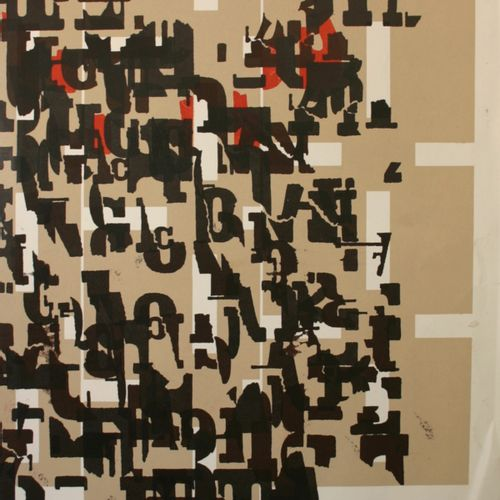 Arthur AESCHBACHER Arthur AESCHBACHER (1923)  Maquette Mexicanerie, 1988  Techni…
