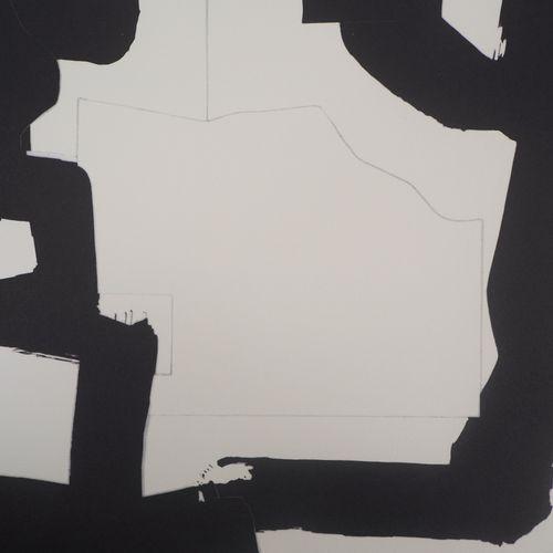 Eduardo Chillida Eduardo CHILLIDA (1924 2002)  Abstraction noir et blanc  Impres…
