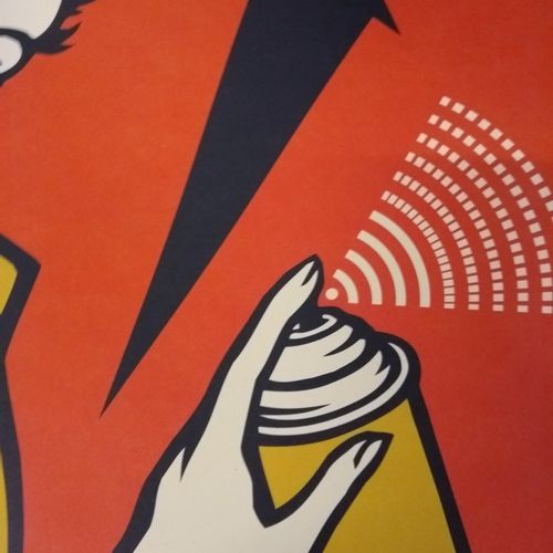 Shepard FAIREY Shepard Fairey (OBEY)  熬夜女孩  乳白色纸张上的胶印  91 x 61 cm  以铅笔签名并注明日期,没有…