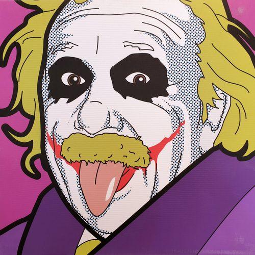 LEON 吕昂   艾伯特的笑话     画布上的重绘   尺寸:60 x 60 cm   无符号,无编号   有些轻微的磨损(见照片)。    出售后,由于健…