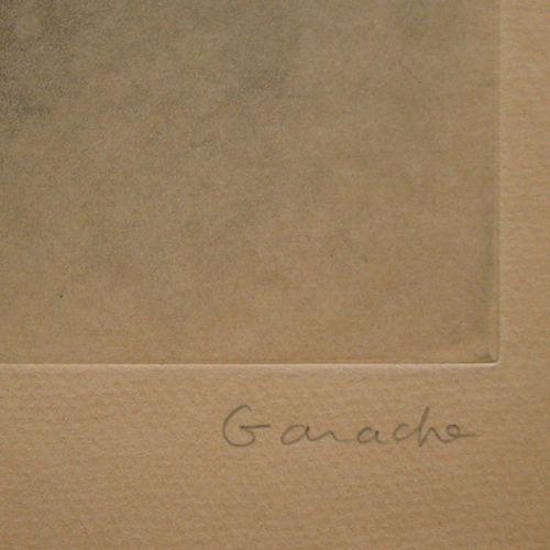Claude GARACHE Claude GARACHE (1930 )  Auche I., 1980  Gravure originale sur Can…