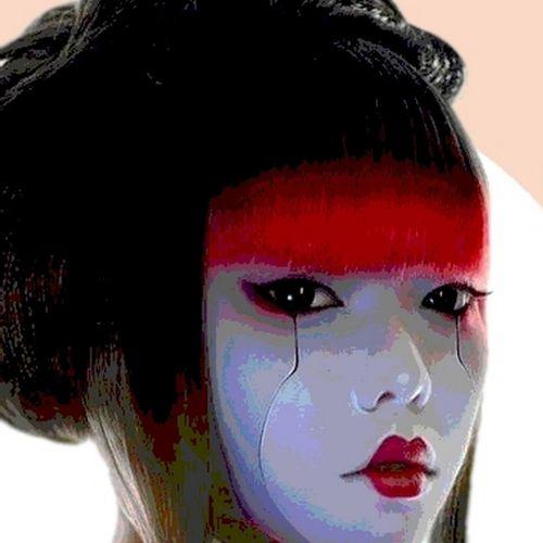 Karl Kox Karl KOX  Cyber Geisha I, 2021  Sérigraphie signée et numérotée /30 exe…