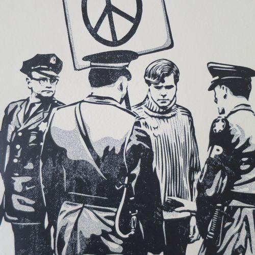 Shepard FAIREY Shepard FAIREY (Obey)  和平抗议者, 2017  凸版印刷   签名:Shepard Fairey。   编…