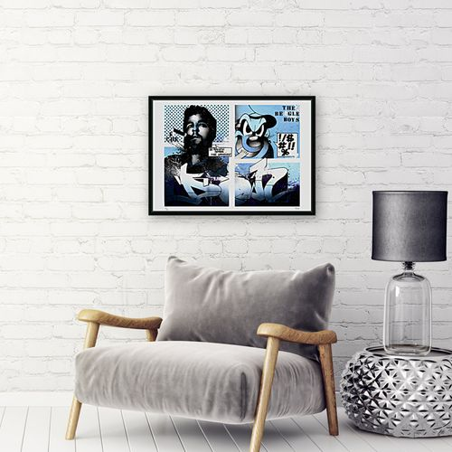 DON 邓小平   埃内斯托 切 格瓦拉对拉佩托, 2019年     由艺术家用铅笔签名并编号的绢印画   尺寸:50 x 70厘米   法布里亚诺艺术纸24…