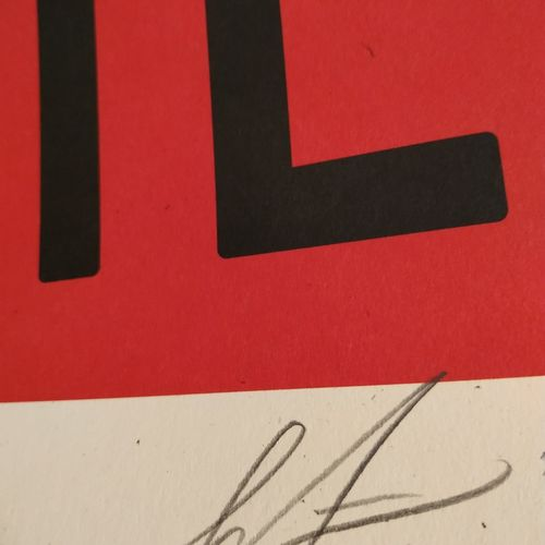 Shepard FAIREY Shepard Fairey aka Obey Giant (美国, 1970)  自由平等博爱  胶版印刷  艺术家用铅笔签名并…