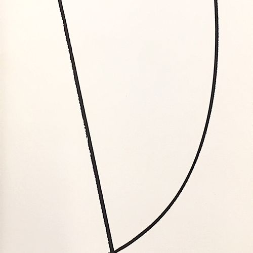 "Hans Hartung 汉斯 哈同(1904 1989)  无题  石版画  无符号  背面印有 ""原版印刷品/在蒙费米尔的杰克 雷诺工作室的印刷机上印刷 ""…"