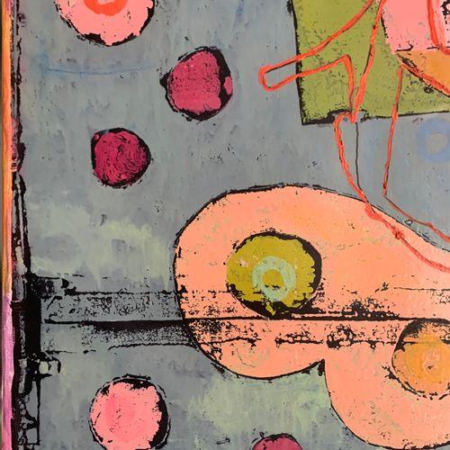 Walter Barrientos 沃尔特 巴里恩托斯。  中国制造, 2003  画布上的混合媒体   签名   独特的工作   145 x 97.5 cm …