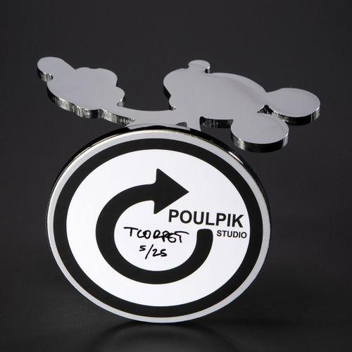 Thierry Corpet Thierry CORPET by Poulpik Studio  Mouse Finger Chrome  Sculpture …