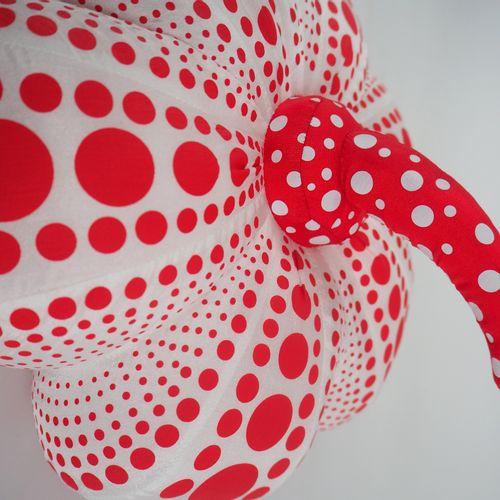 Yayoi KUSAMA Yayoi Kusama (d'après)  Dots Obsession (Pumpkin red Small)  Edition…