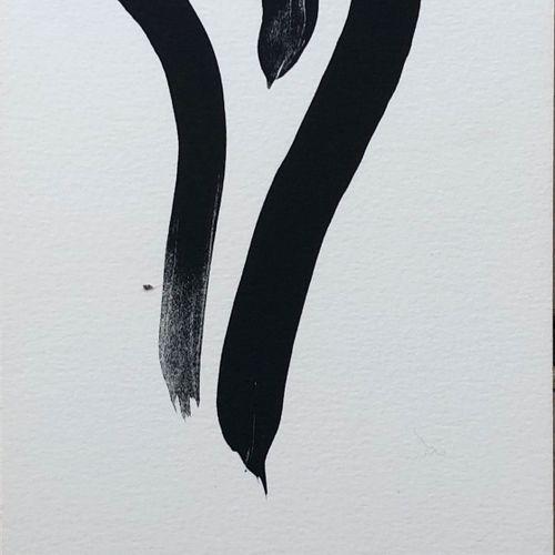 Olivier DEBRE Olivier DEBRÉ  Composition 9  Lithographie originale sur papier Ar…