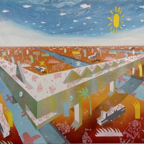 Camille Adra Camille ADRA  Double Origine  Acrylique sur toile  Signée par l'art…