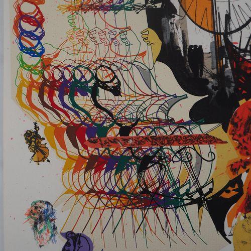 Raymond MORETTI Raymond Moretti (1931 2005)  Les musiciens, 1974  Lithographie o…