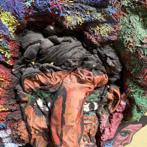 Alain Lacoste Alain Lacoste  Dépassé par sa grande œuvre, 1993     Sculpture, Te…