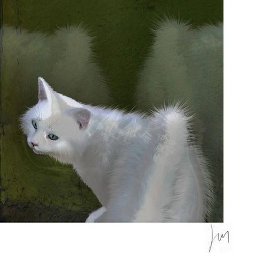 Lionel Morateur Lionel Morateur  盲目的镜子 2019年  丝网印刷 已签名并编号为9/30  法布里亚诺艺术纸240克  尺寸…