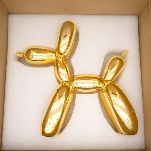 Editions Studio Editions Studio  Balloon Dog  Sculpture en résine dans le goût d…