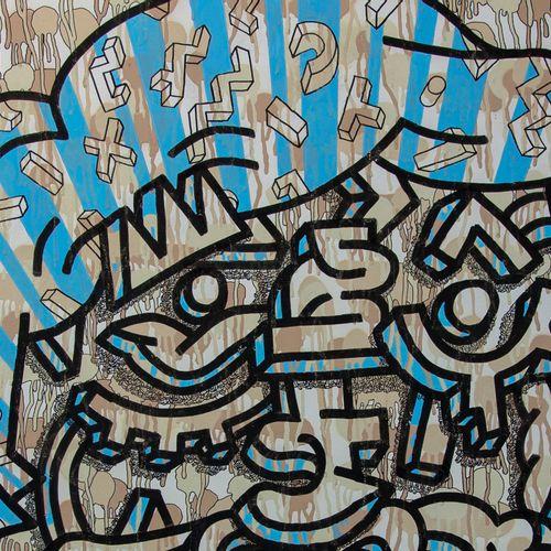 Camille Adra Camille ADRA  Sans titre  Acrylique sur toile  Signée par l'artiste…