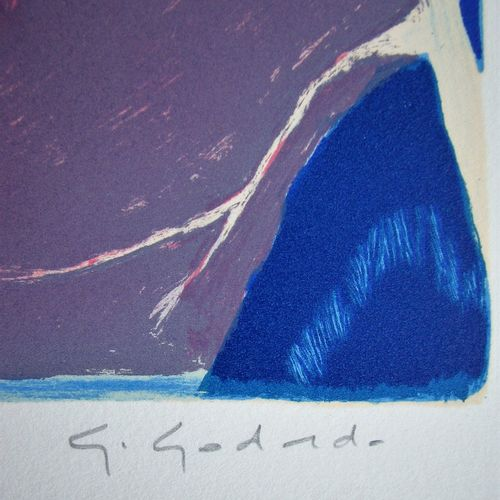Gabriel GODARD Gabriel GODARD (1933 )  La clairière, 1982  Lithographie original…