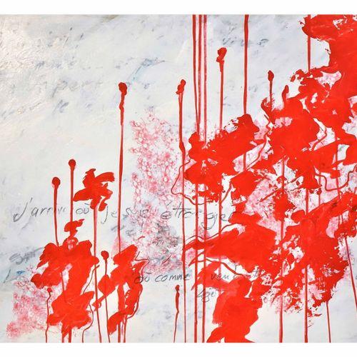 Richard Saint Amans Richard Saint Amans   红 3, 2019     丝网印刷品 签名和编号1/30 Fabriano…