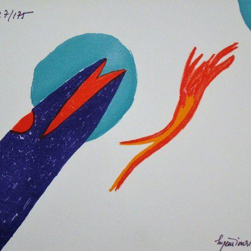 Eugène IONESCO Eugène IONESCO ( 1909 1994 )  Sans titre, 1970  Lithographie orig…