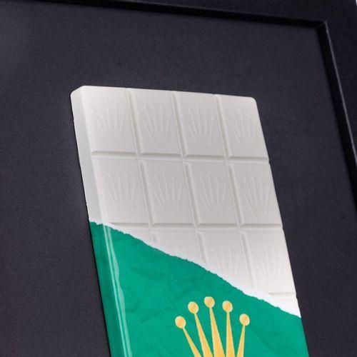 Shakeart83 Shakeart83   Crunch Rolex, 2021     Peinture sur résine   26 x 20 cm …