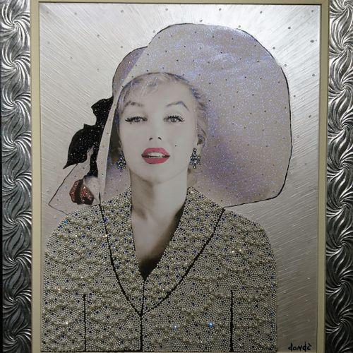 Daniele Dondè Daniele Dondè   Marilyn Monroe     Technique mixte sur toile (coll…
