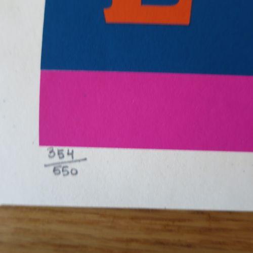 Shepard FAIREY Shepard Fairey (Obey)  Love Lotus 2021  Sérigraphie sur papier cr…