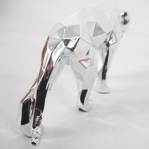 Richard Orlinski Richard ORLINSKI  Panther spirit (silver edition)  Sculpture or…