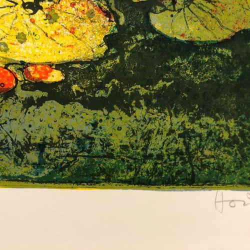 LEBADANG Lebadang   Sans titre   Lithographie signée au crayon au crayon   Sur p…