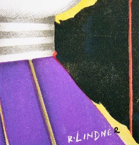 RICHARD LINDNER Richard Lindner  Composition pour XXe Siècle, 1974  Lithographie…